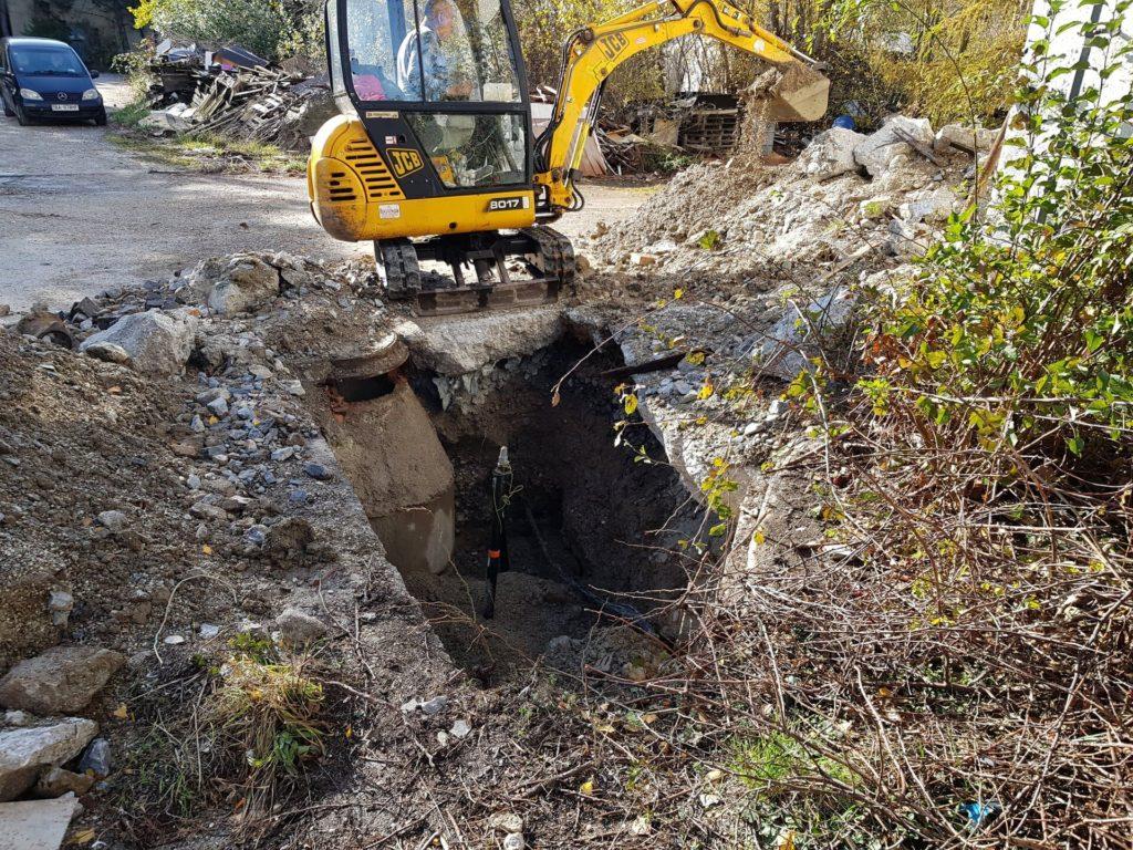 Oprava potrubia Dúbravka