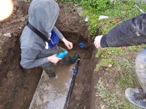 Oprava potrubia Vajnory
